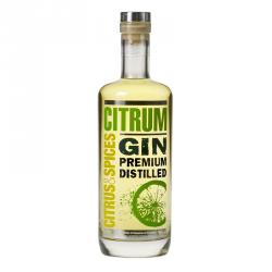 Gin Citrum, Gin au citron vert