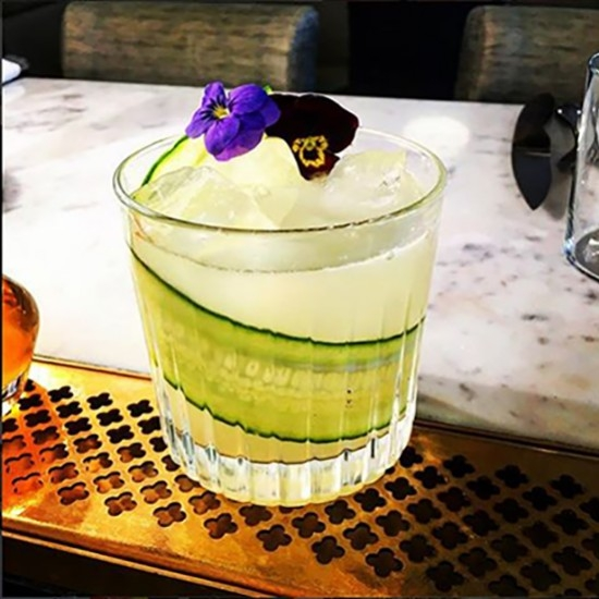 Green Beast by Raphaël Leclercq, bartender at A Blend of Knowledge and barmanager at Frenchie Covent Garden (London)