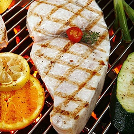 Grilled swordfish, pastis sauce From Recettes-Et-Terroirs