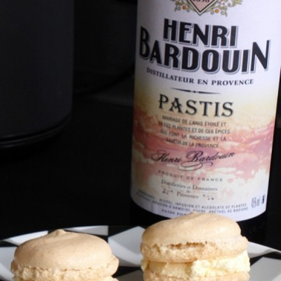Macarons with pastis Henri Bardouin from Nancybuzz blog