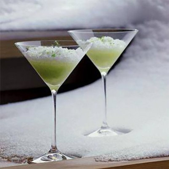 Genepi Granita, pear and lime by Pierre Gagnaire