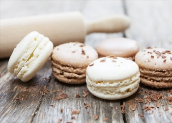 Bitter Almond and Génépi Macaroon  from the Bistrot de Pays de Limans