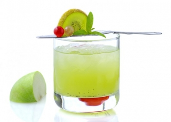 Kiwi Absente Cocktail (Kévin Vial)
