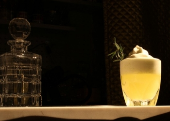 Le Sudiste Cocktail par Sullivan Doh (Chef Barman du Syndicat Cocktail Club)