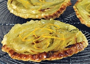 Tatin of fennel with Pastis Henri Bardouin