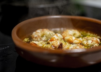 Aniseed risotto in gambas