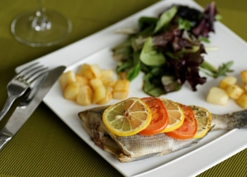Sea bream filets in the Pastis HB