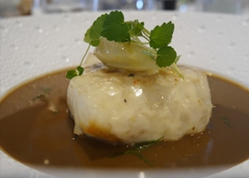 Wild Turbot Basing Blanquette of fennel in the Pastis HB by Ludovic Turac