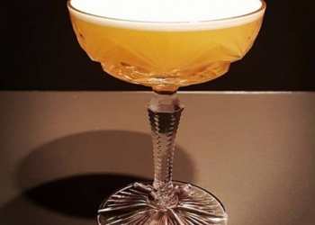 Pear & Bourbon Sour by Arnaud Tarabout