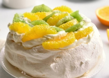 Pavlova Kiwi Orange with RinQuinQuin