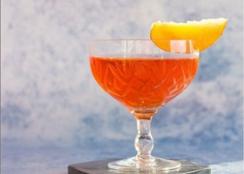 Peachy Keen Boulevardier @ Yvonne from tasteandtipple.ca