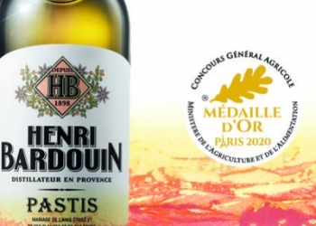 Gold medal for Pastis Henri Bardouin!