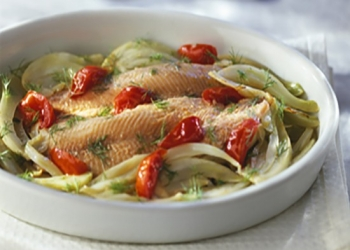 Marinated anchovies with peppers and muscat wine