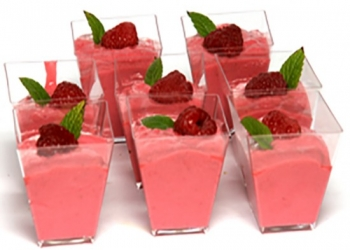 Red fruit mousse